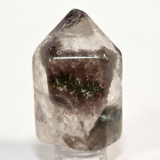 195ct Natural Red & Green Phantoms Chlorite Quartz Crystal Mineral Point - China