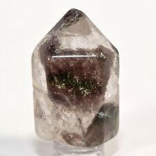 195ct Natural Red & Green Phantoms Chlorite Quartz Crystal Mineral Point - China