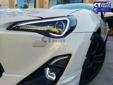 SPEC D Black 3D LED DRL Black Projector Headlights for TOYOTA 86 GTS SUBARU BRZ