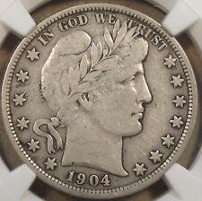 1904 Barber Half Dollar NGC VF 20