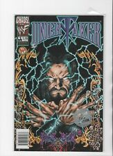 WWF Chaos Comics Undertaker #1 Limited 1st Edition Comic Book PLUS 6 CARD LOT