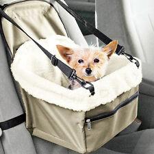 Pet Booster Seat Lookout Car Safety Dog Carrier Leash Belt Adjustable Travel Hot