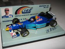 1:43 Sauber Ford C15 H.H. Frentzen 1996 Minichamps 511964315 OVP new