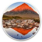 2 x Vinyl Stickers 30cm - Buachaille Etive Mor Highlands Scoland  #44480