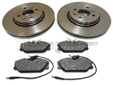 Renault Scenic 1.9 dCi MPV 101 Rear Brake Discs Pads Set 274mm Solid