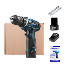 12V Electric Cordless Hammer Drill Driver Lithium Ion 0-1350R/MIN 2 Speed QV2