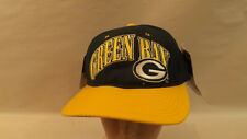 Vtg Green Bay Packers Snapback Hat/Cap by Starter NWT
