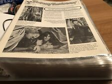 Disney Newsreel 1978 - 2014 Cast Member Magazine MK Epcot Studios Paper Binder