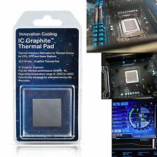 Grafite IC di raffreddamento Innovation PAD TERMICO – alternativa alla pasta 30x30mm