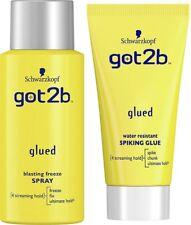 Duo Got2b Glued Blasting Freeze Spray 100ml +Glued Spiking Glue 50ml Travel size