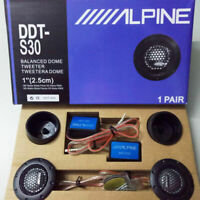 DDT-S30 Dome Balanced Car Tweeter 2x Speaker Crossovers Car Stereo Speakers