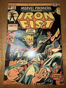 Marvel Premiere 14 First Iron Fist Very Nice Copy