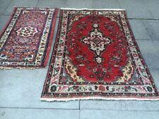 antico-swiss-2- >>>>>>& gt;> 2 Beautiful Antique indoBorjaloo rugs 3`7 x 5`4 ft