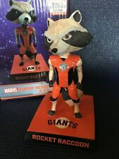 San Francisco Giants Rocket Racoon Bobblehead