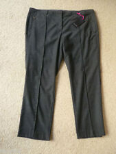 Marks and Spencer Straight Leg Wool Blend Trousers for Women