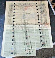 OBBLIGAZIONE STRADA FERRATA VITTORIO EMANUELE - 25/8/1863