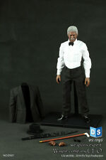 1:6 DSTOYS Weapon Expert Batman Wayne Company Adviser Morgan Freeman Figure Sets