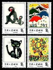 PRC China 1983 T86 / Mi.#1873-76** Kindermalereien / Full Set-MNH
