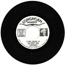 WILLS, Bob  (If He's Movin' In <I'm Movin' Out>)  Longhorn 550 = VINTAGE record