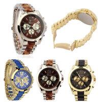Hot Men's Fashion & Classic Luxury Stainless Steel Quartz Analog Wrist Watch UK