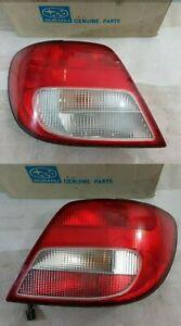OEM Subaru Impreza WRX STi 02-03 Ver 7 Bugeye Wagon Rear Back Tail Lamps Lights