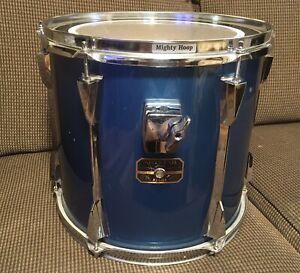 """Tama Artstar ES 13"""" X 12"""" Rack Tom Green / Blue Made In Japan"""
