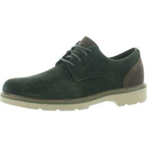 Rockport Mens Charlee Leather Lace Up Plain Toe Oxfords Shoes BHFO 2976
