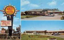 Sumerside Canada Garden of the Gulf Court and Motel Vintage Postcard J66222