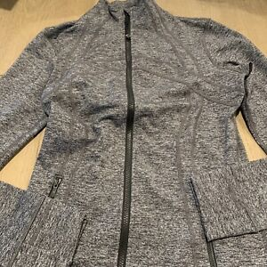 NWT authentic lululemon define jacket in Heathered Black size 10. in wrapper!