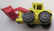 Lesney Matchbox Tracteur Pelle #29 1978 Yellow Rouge Very Bonne