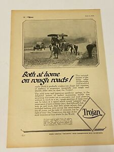 RARE TROJAN Original A4 Car Magazine Advert Jun 8th 1926 Car Advertising L4