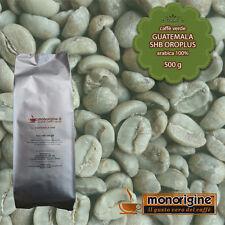 Caffè Verde in Grani Guatemala SHB Oroplus 500 gr - Caffè Arabica 100%