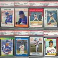 Giant Lot Of 28 Graded Sammy Sosa PSA 10 Rookie Cards RC #1 Ranked PSA Registry!