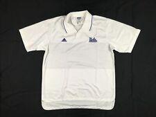 adidas UCLA Bruins - Men's White Polo Shirt (L) - Used