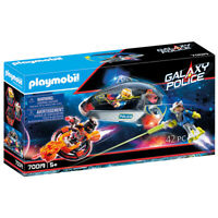 Playmobil 70019 Galaxy Police Space Shuttle with Missiles