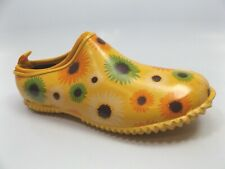 Western Chief Garden Clog, Dried Daisies, Shoes Women's SZ 6.0 M, NEW,  D14422