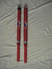 2 Ata Martial Arts Taekwondo Karate Red Dragon Stick Bahng Mahng Ee Combat 24�