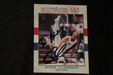 BART CONNER 1991 IMPEL OLYMPICS HOF SIGNED AUTOGRAPHED CARD #82 USA GYMNASTICS