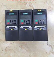 1 pcs Siemens inverter 6SE6420-2AB17-5AA1 0.75KW 220V