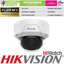 HiWATCH 2.8mm 2MP 1080P IR POE Dome Onvif Outdoor Network IP Security Camera