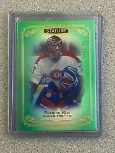 2019-20 UD STATURE GREEN 026/149 PATRICK ROY