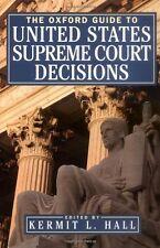 The Oxford Guide to United States Supreme Court De