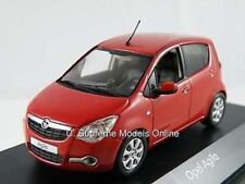OPEL VAUXHALL AGILA CAR MODEL DEALER PACKAGED ISSUE RED 1:43 SIZE SCHUCO PROMO T