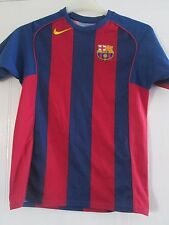 Barcelona 2004-2005 Hogar Camiseta De Fútbol Tamaño Grande Chicos/41490