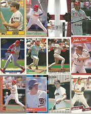 JOHN KRUK (47) Card Lot 23 Different w/ RC Inserts PHILLIES