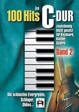 100 Hits in C-Dur - Band 2 von Gerhard Hildner (2014, Taschenbuch)