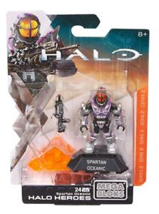 Mega Bloks Halo Heroes Series 2 Spartan Oceanic Mini Figure Brand New
