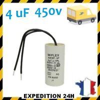 Condensateur de moteur demarrage 4uF 4µF 4UF moteur volet roulant Bubendorff