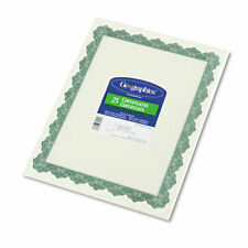 Optima Green Certificates and Seals 2 Pack (39452)