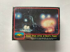 Vintage 1978 Topps Close Encounters of the Third Kind Movie Trading Card Set!